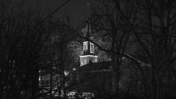 Douglass Boulevard Christian Church (Black and White)