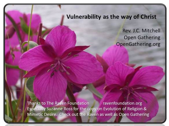Vulnerability as way of Christ